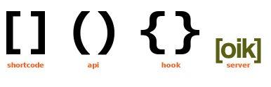 oik shortcode and API server