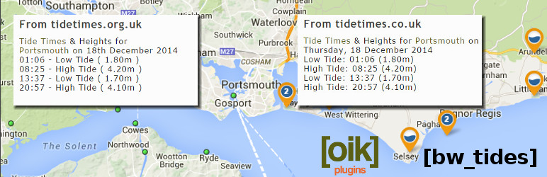 UK tides – times and heights