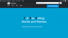 ThisIs… – experimental Full Site Editing theme