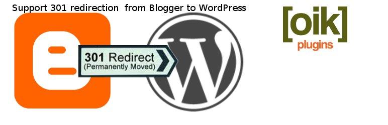 blogger to WordPress redirection